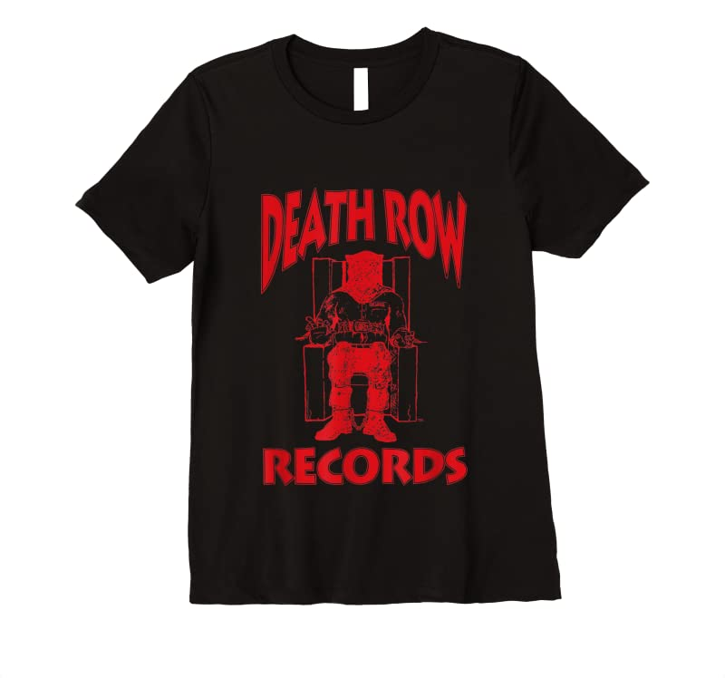 Cool Death Row Records Red Logo T Shirts