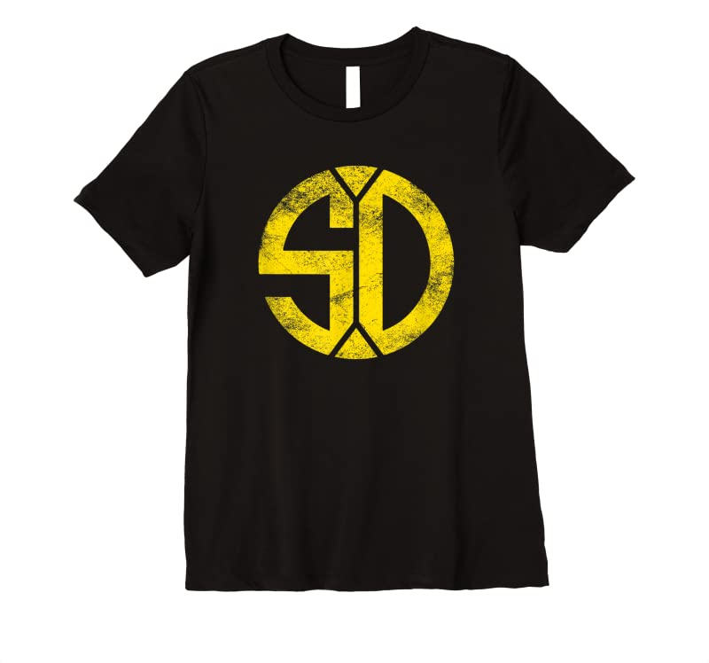 Cool Vintage San Diego Sd Home Monogram Game Day Padre T Shirts
