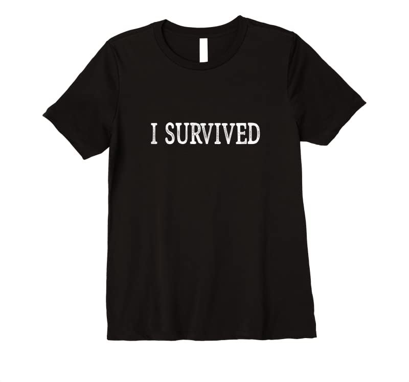 New I Survived Vintage Style T Shirts