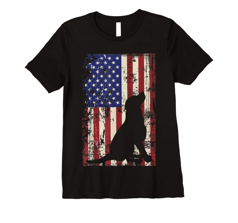 Order Now Patriotic Labrador I 4th Of July American Flag T Shirts
