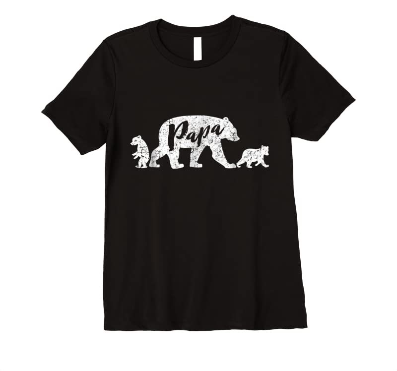 Trending Papa Bear With Two Cubs T Shirts
