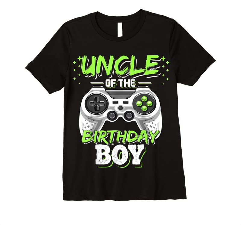 Trending Uncle Of The Birthday Boy Matching Video Game Birthday Gift T Shirts